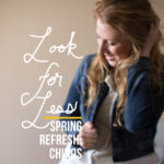 Look for Less: Spring Refresh Chinos