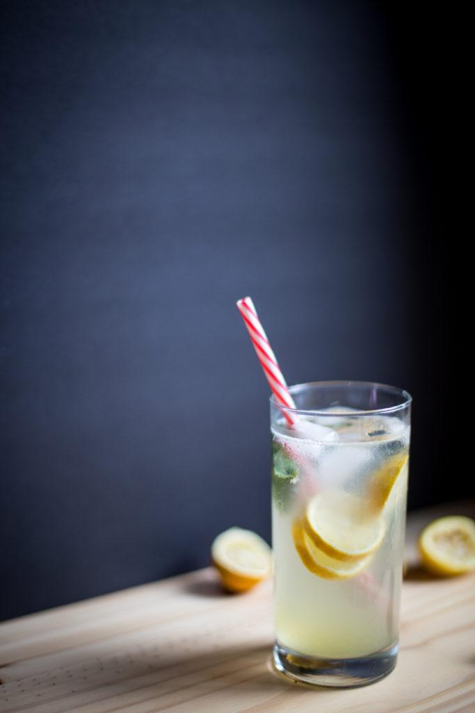 basil gin lemonade