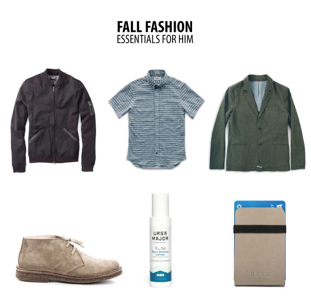 fall fashion for him
