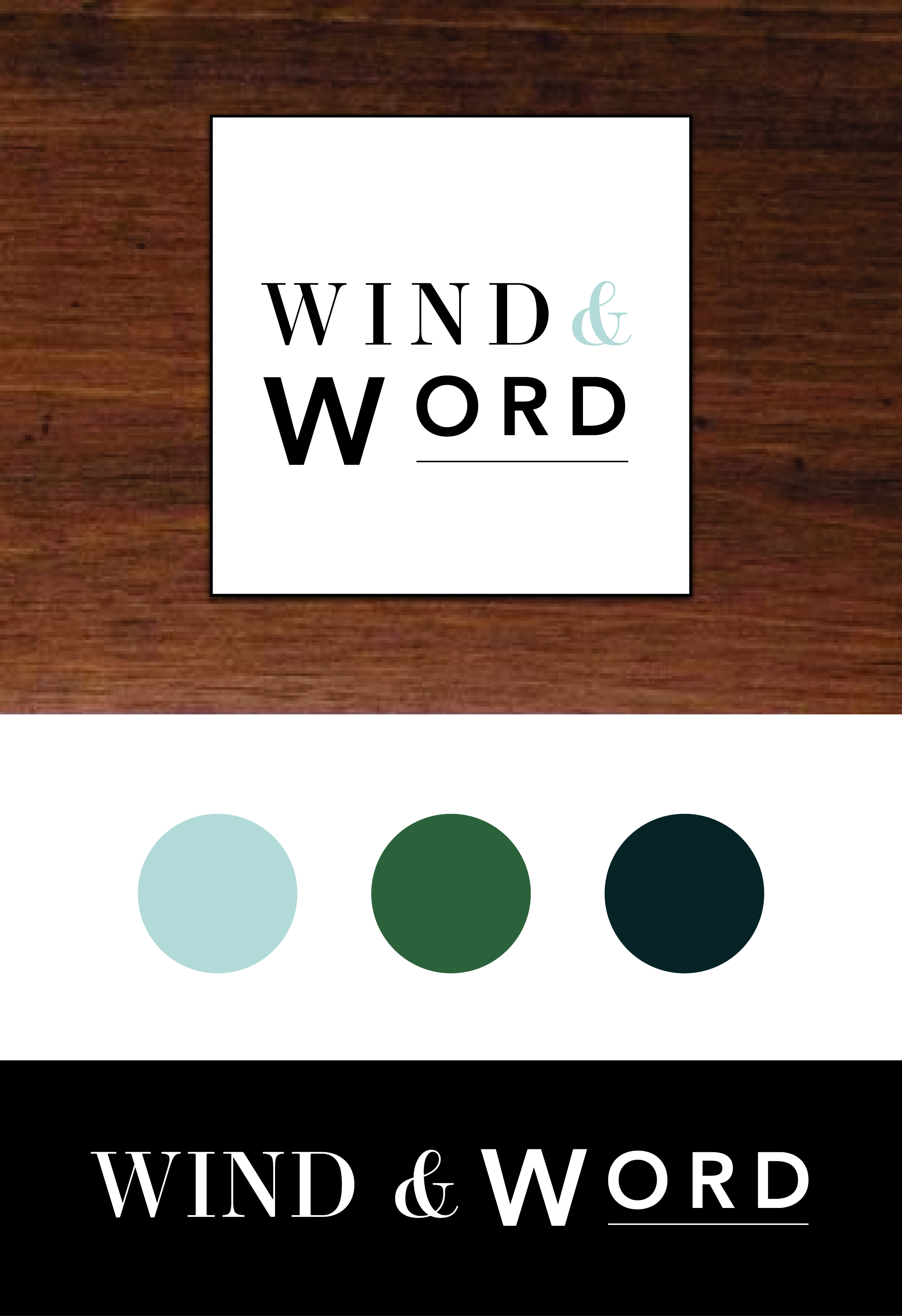 portfolio wind and word