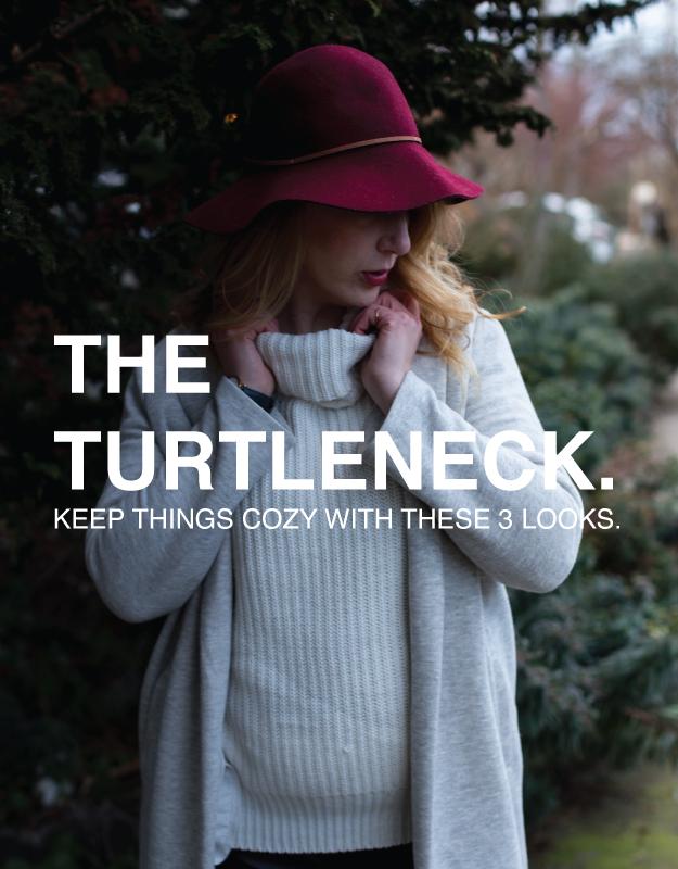 turtleneck 3 looks