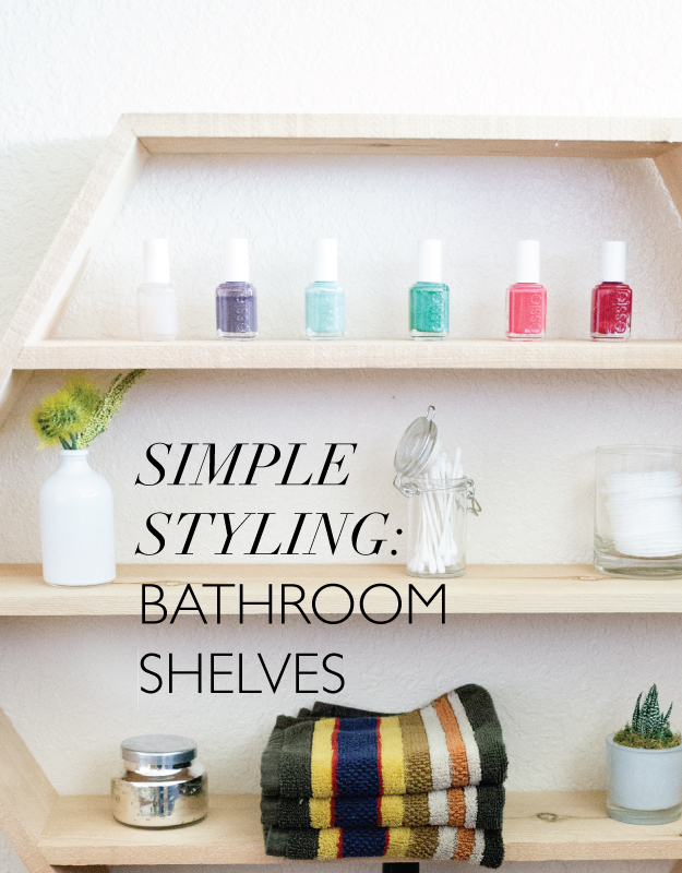 Awesome But My Favourite Bathroom Shelves Are By Far The Ones You Can Place In The Corner  This Can Be Applied To Both Individual Shelves And Vanities A Ladderstyle Shelving Unit Can Fit Nicely In The Corner Of The Bathroom Or By The Sink