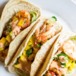 Grilled Shrimp Tacos with Mango Salsa