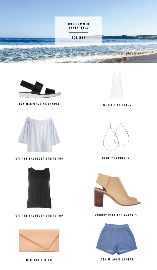 summer essentials for her 2