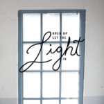 Getting Real: Open up Let the Light In