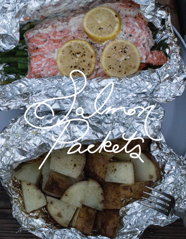salmon packets