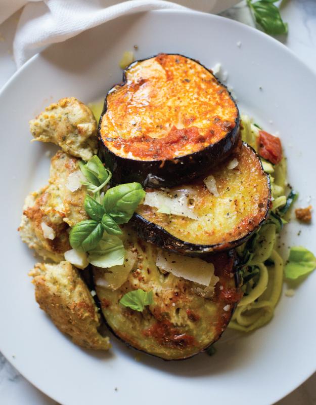 eggplant parmesan whole 30 edition