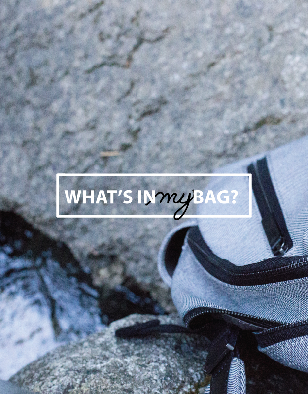 What's In My Bag: Camping Edition - Glisten and Grace