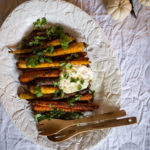 Roasted Carrots and Lentils