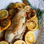 Braised Turkey Breast with Burnt Citrus