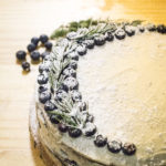 Gluten Free Chocolate Cake with Vanilla Buttercream