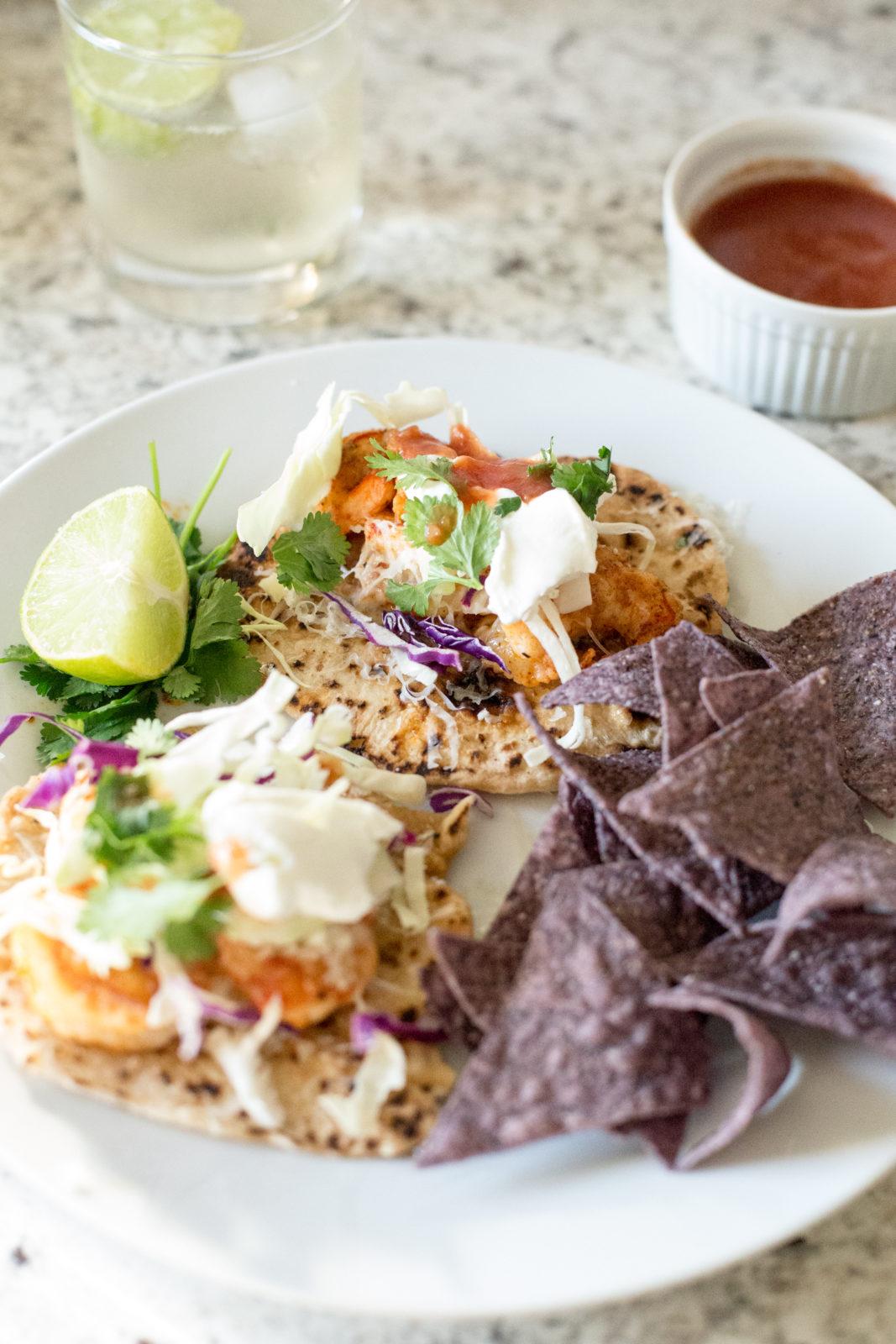15 minute dinners shrimp tacos