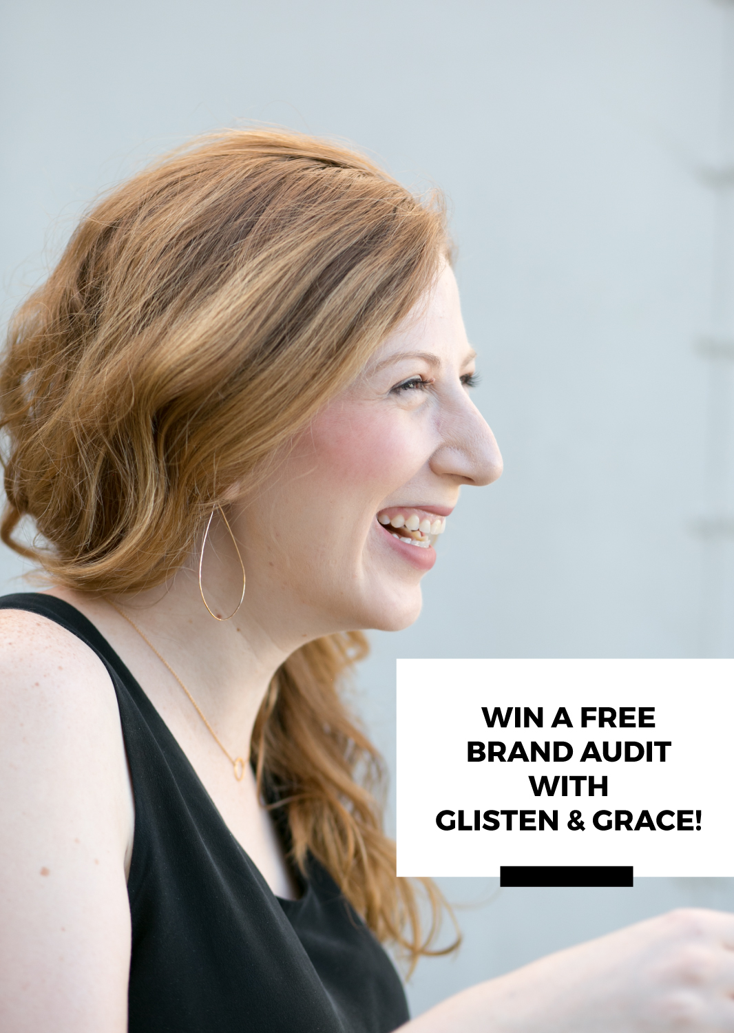 win a brand audit from glisten and grace