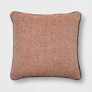 herringbone oversized pillow