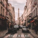 What's In My Bag: Spring in Paris