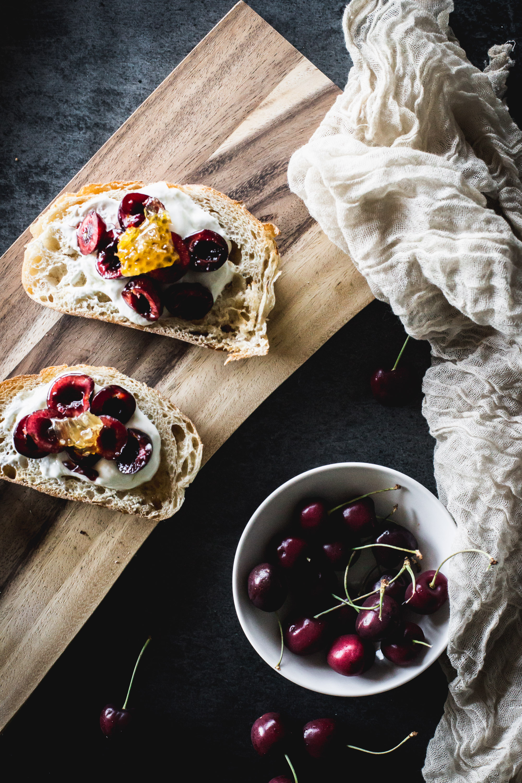 cherry toast