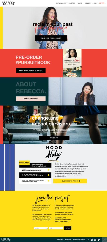 Rebecca Bender Web Design