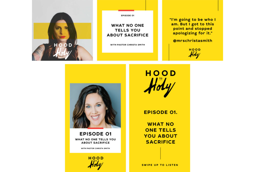 Rebecca Bender Hood to Holy Podcast
